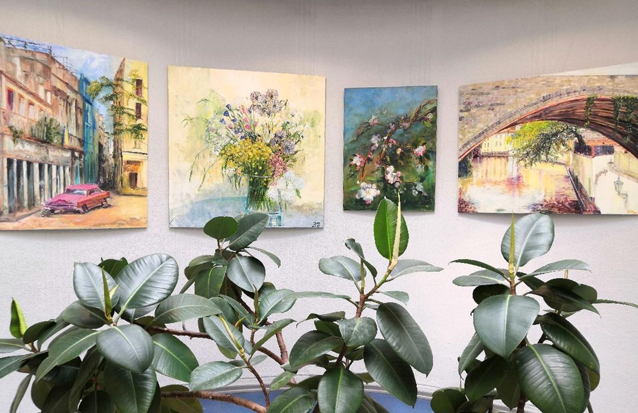 Aplankykite tapybos darbų parodą