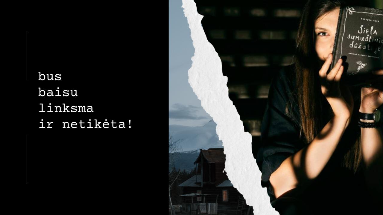 Svečiuosis rašytoja Kotryna Zylė