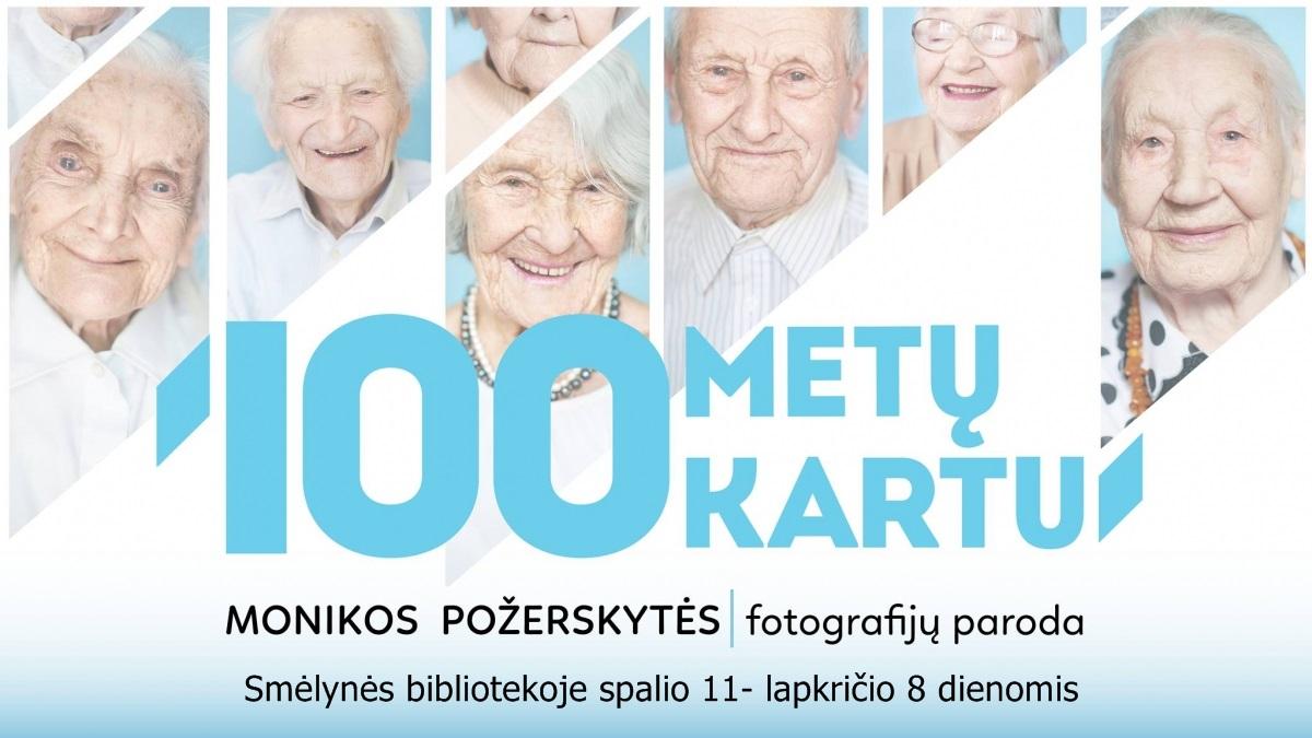 """Projekto """"100 metų kartu""""nuotraukų albumo pristatymas"""